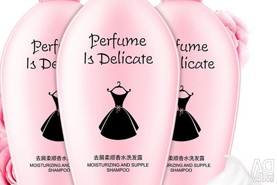 Perfumed shampoo