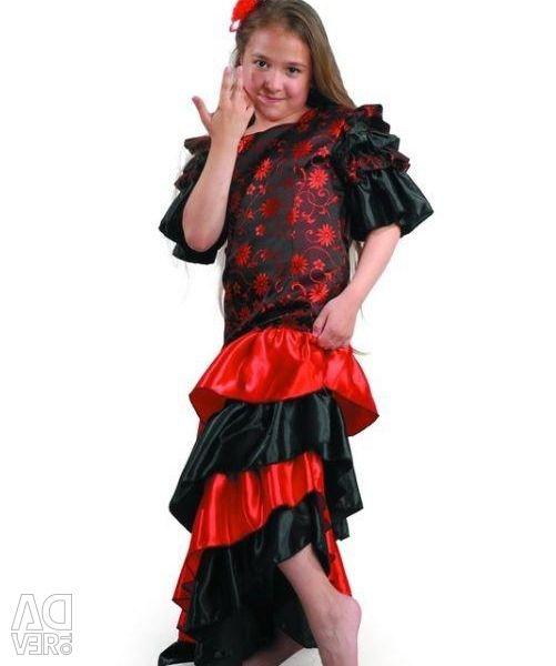 Carnival costume Spanish