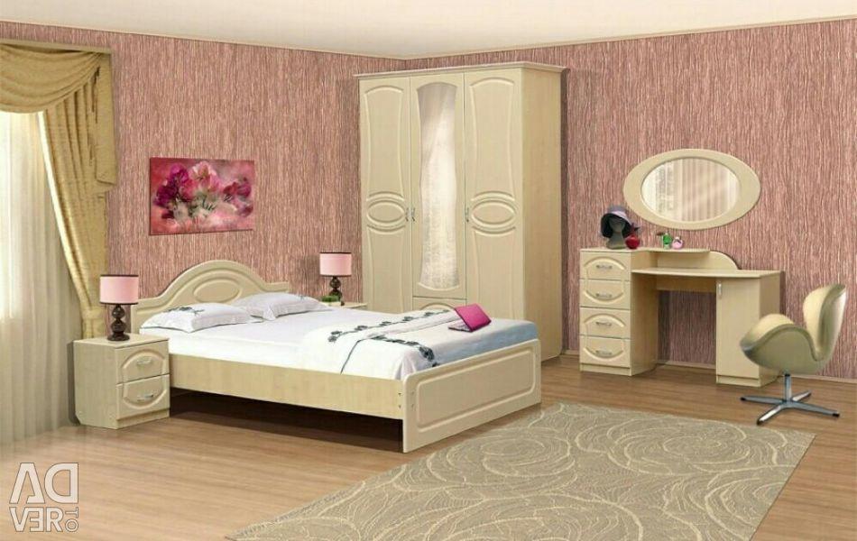 Спальний гарнітур vivо4 / ліжко / тумба / стіл