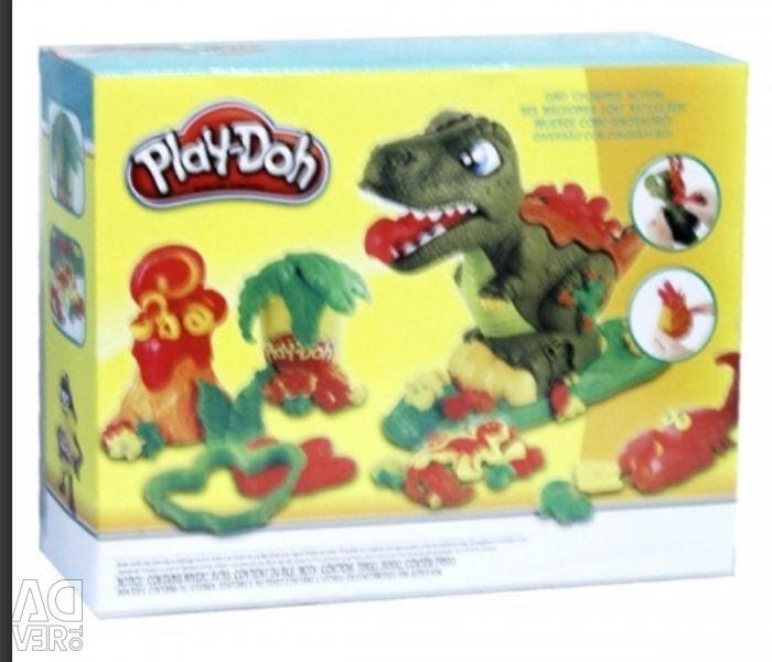 Oyun doh dinozor Rex yeni ayarla