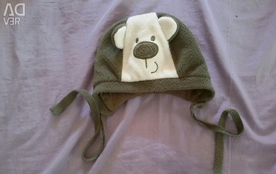 Fleece hat for a baby up to a year