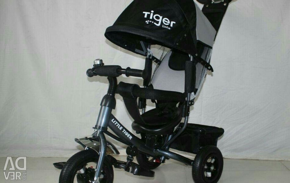 New ones. Tiger tricycle inflatable count