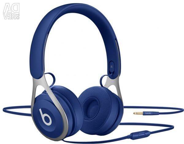 Blue headphone beats EP