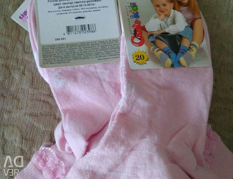 Kızlar için çoraplar