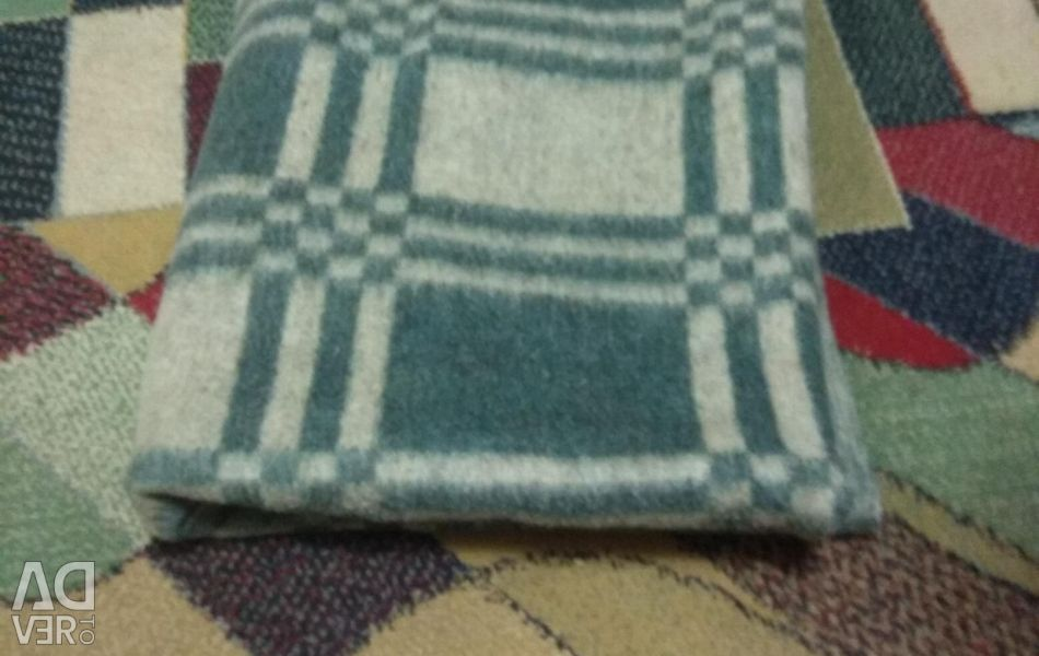 New wool blanket