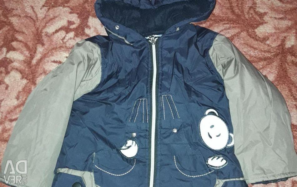 Jacket used.
