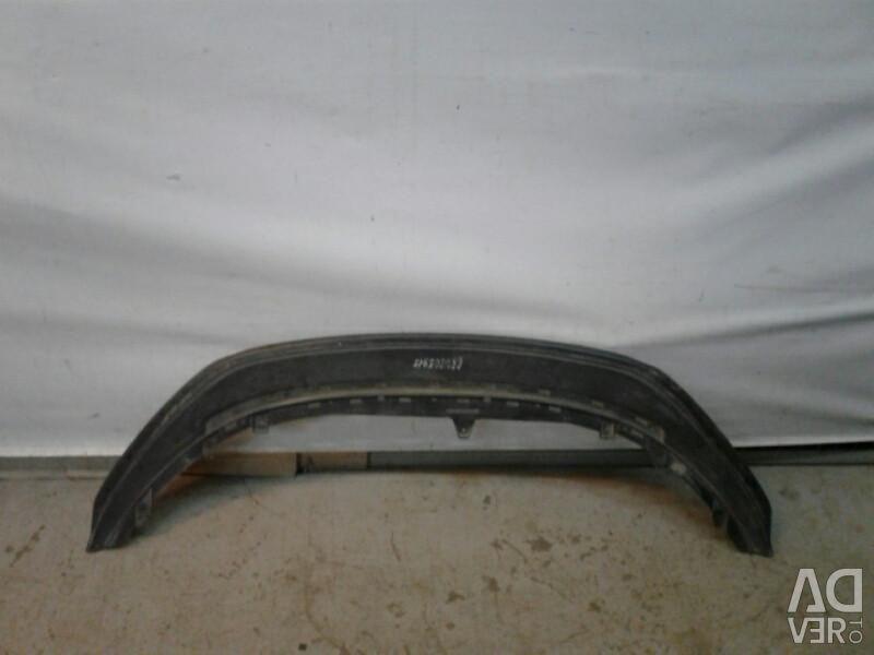 Spoiler front bumper Volkswagen Polo 11 - Oem 6ru805915 (skl-3)