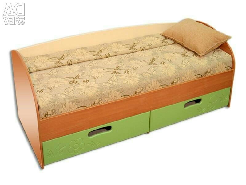 Κρεβάτι Πράσινη Βανίλια