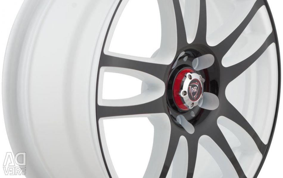 Wheel disks NZ F-45 6.5x16 PCD 5x105.0 ET 39 DIA 56.6 W + B