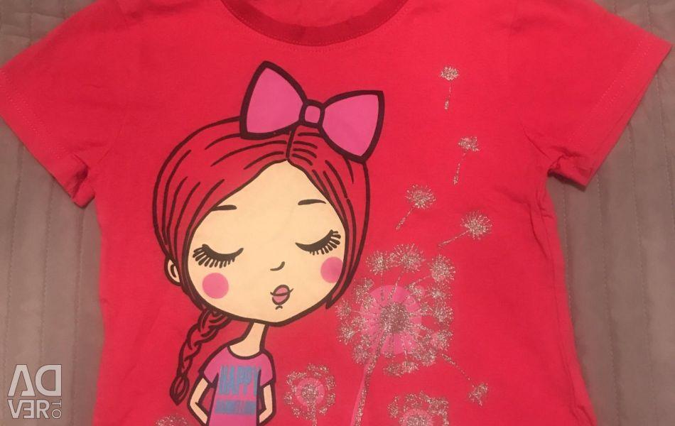 T-shirt νέα 128rost
