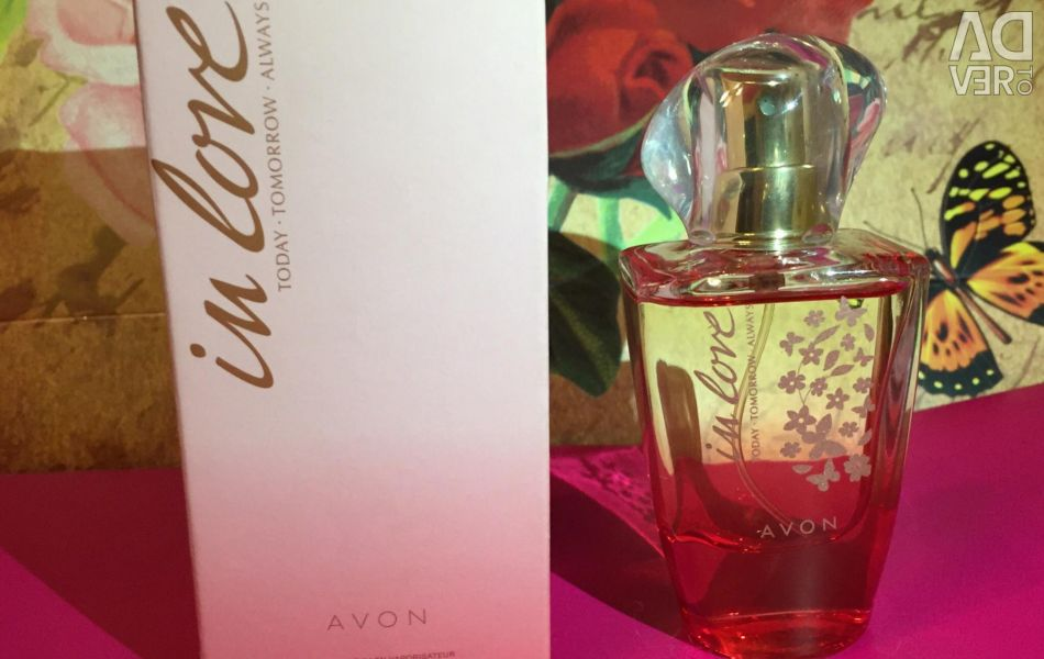 Perfumed water avon In Love 30 ml.