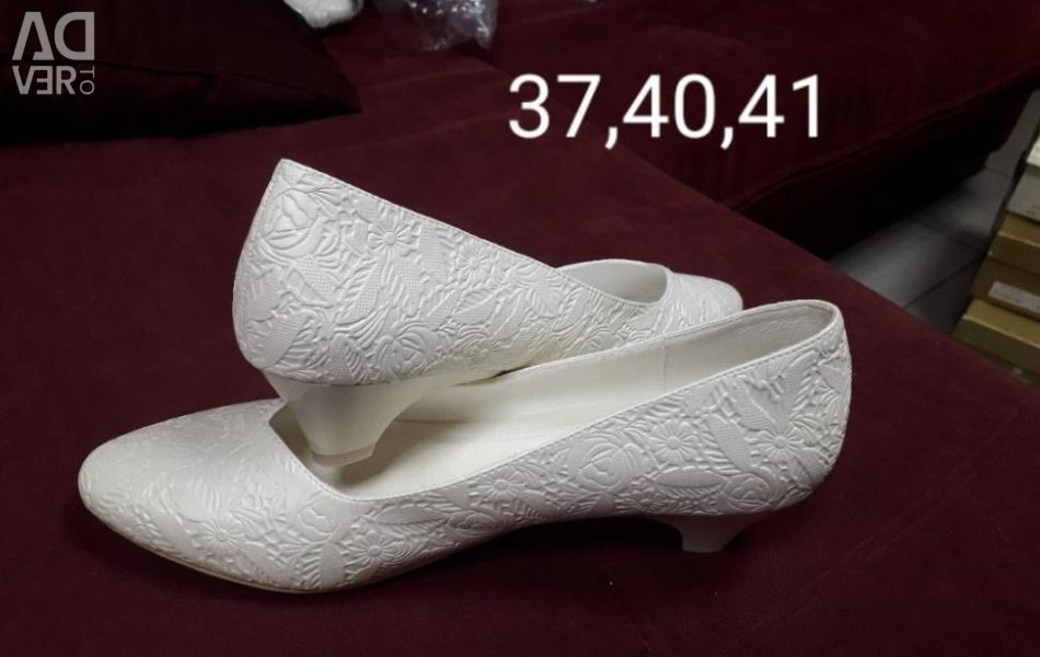 New wedding shoes