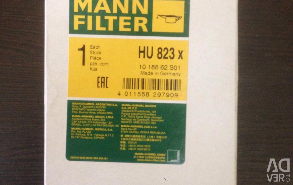 Oil filter HU824X on BMW