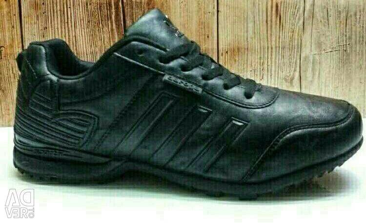 Spor Ayakkabısı ADIDAS HAKİKİ DERİ