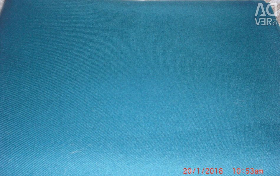 Wool cloth with lavsan