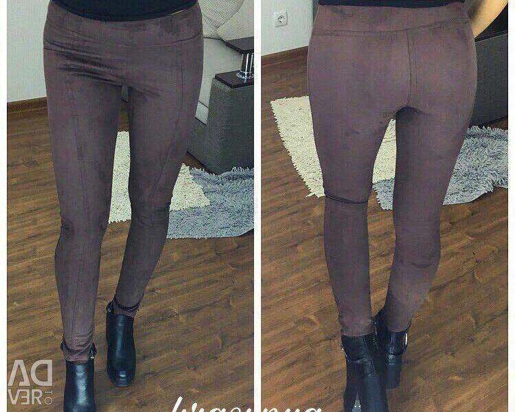 NEW Suede leggings / pants