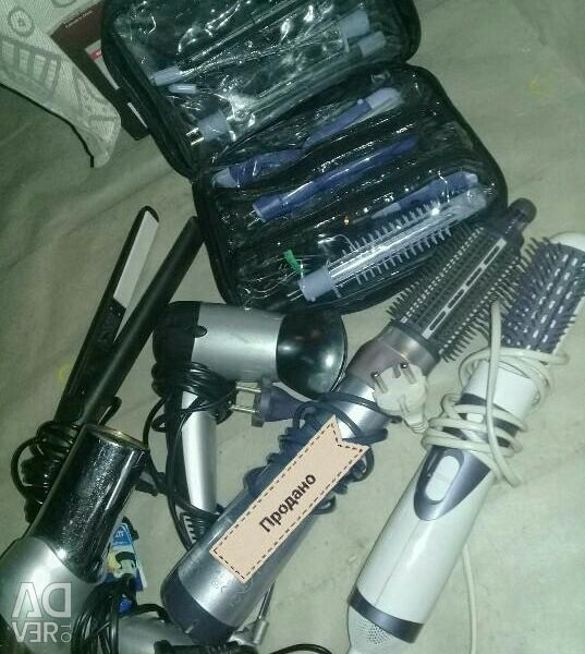 Hair dryers and styling