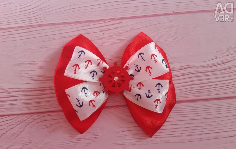 Bows with an anchor