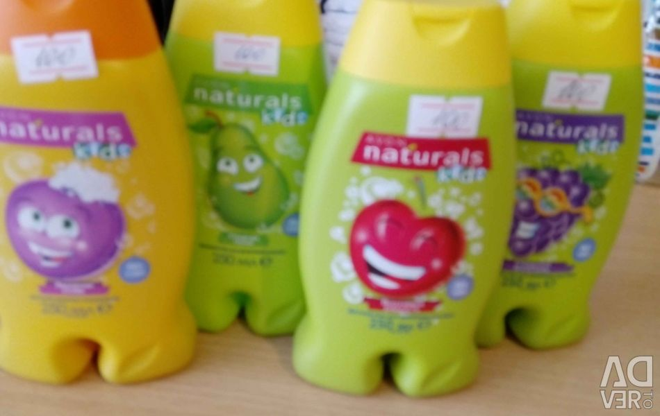Shampoo, gels