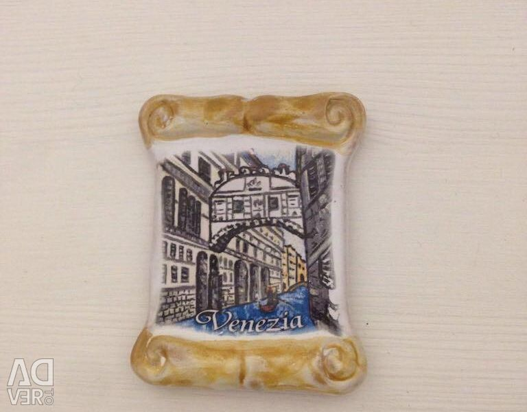 Magnet from Venice, Italy