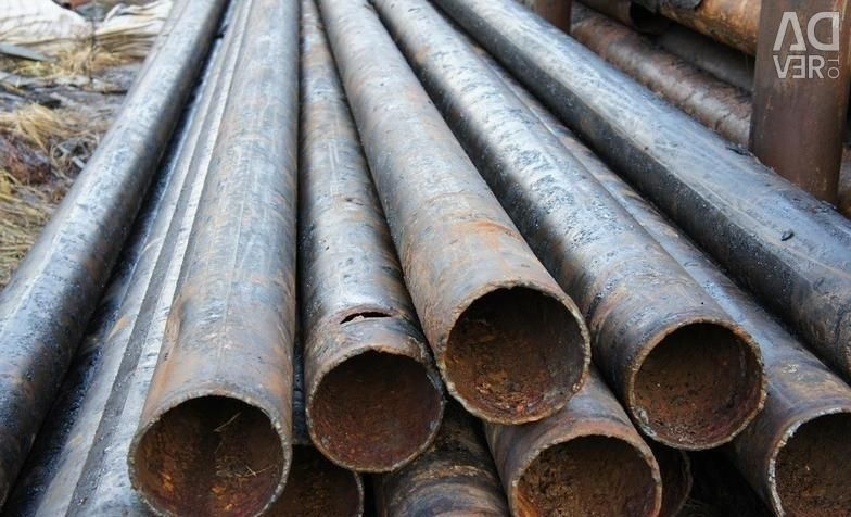 The pipe is metal. 219x9