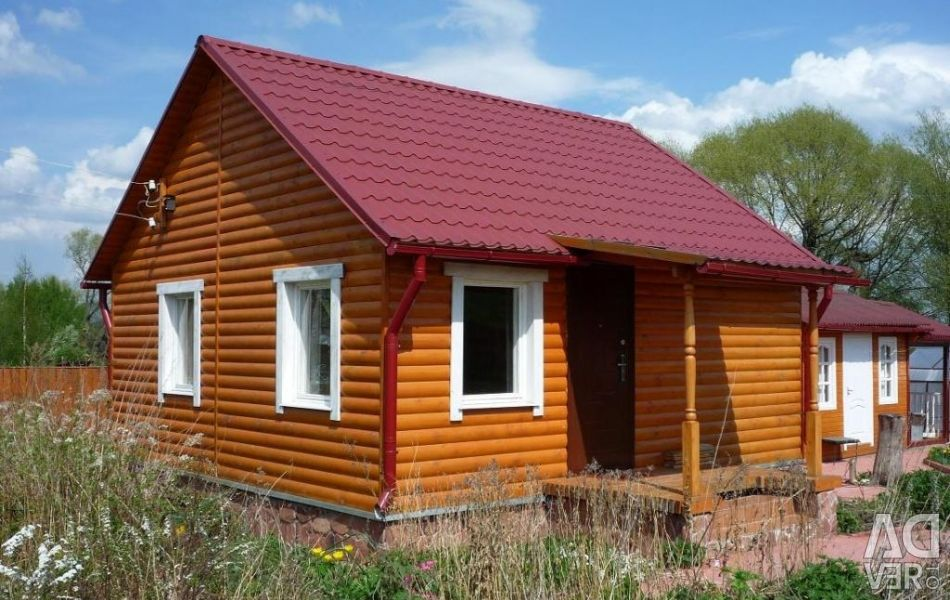 Строительство домов, бань, саун, коттеджей.