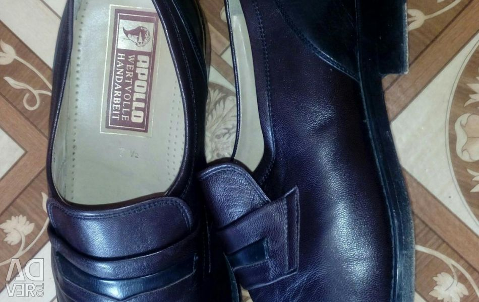 Erkek deri ayakkabı 42 çözüm