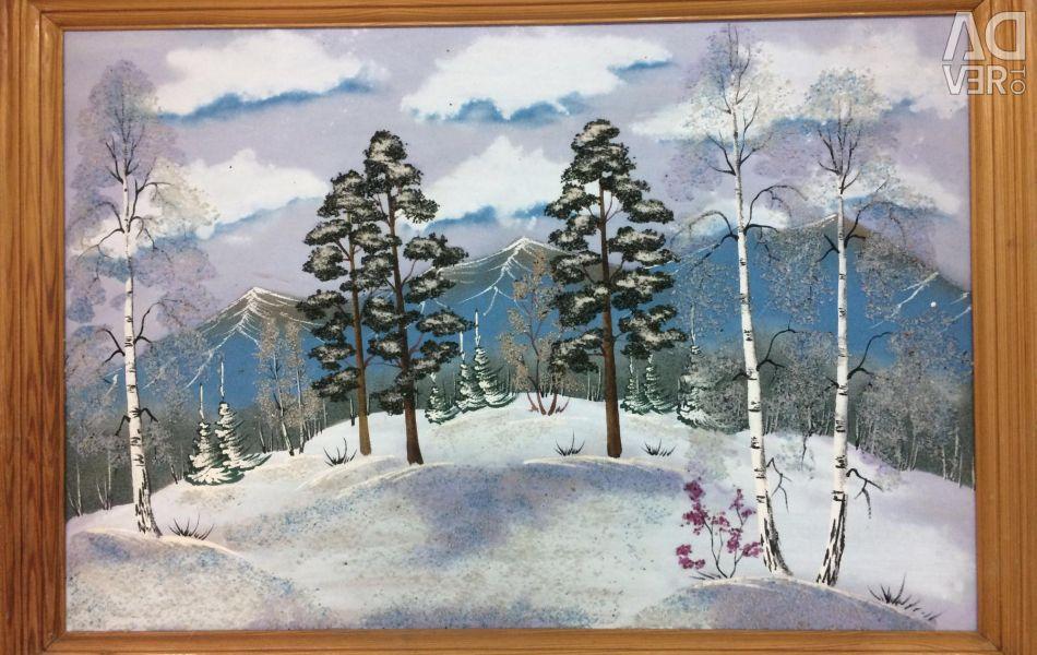 Picture Winter 68x48 cm