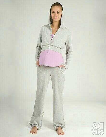 Kit for pregnant women three items (Trouser