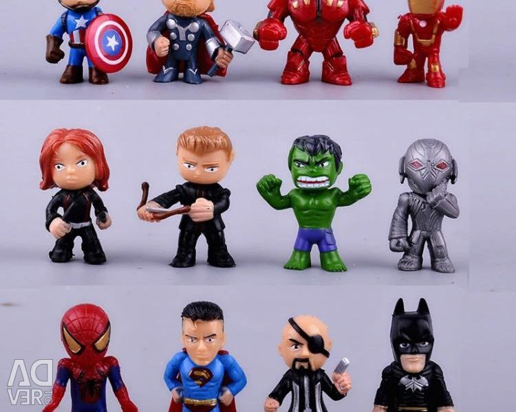 Toys heroes marvel