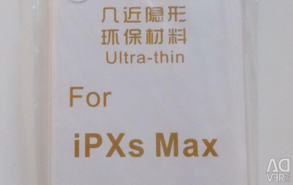 Silicon Transparent Bara de protecție pentru iPhone XS Max