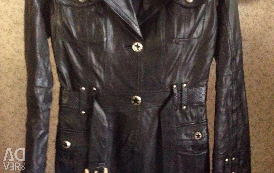 Eco-leather cloak