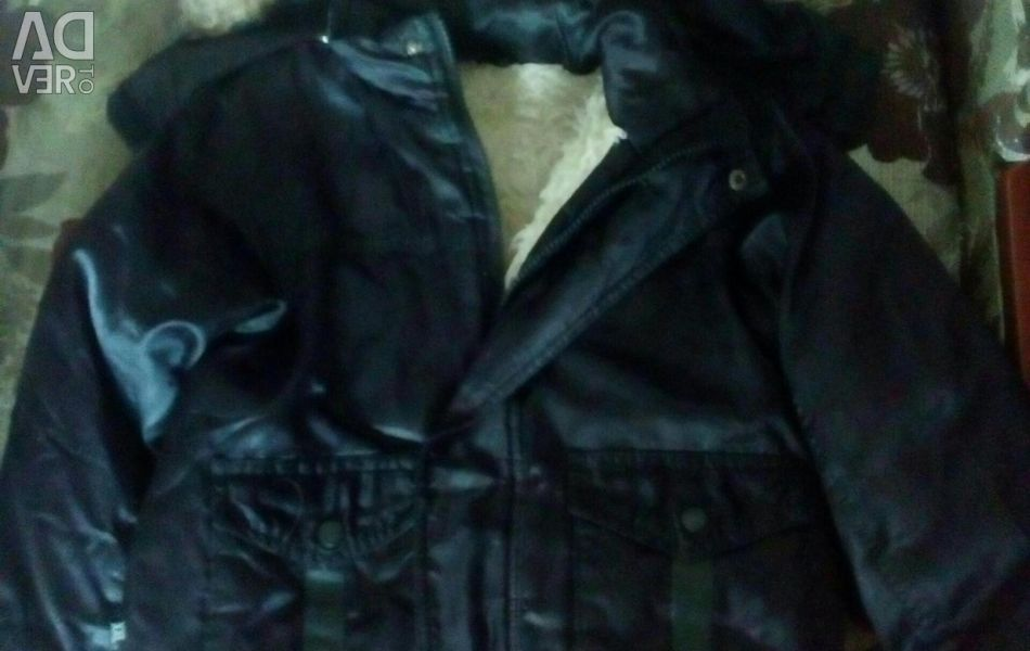 Winter jacket for a boy from 2 to 6 years old