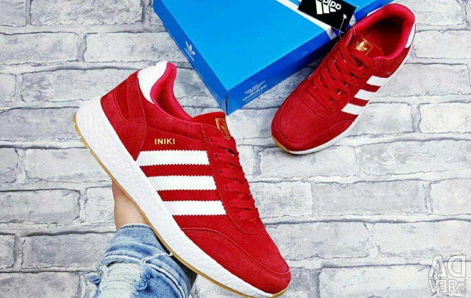 Adidași adidas iniki roșu