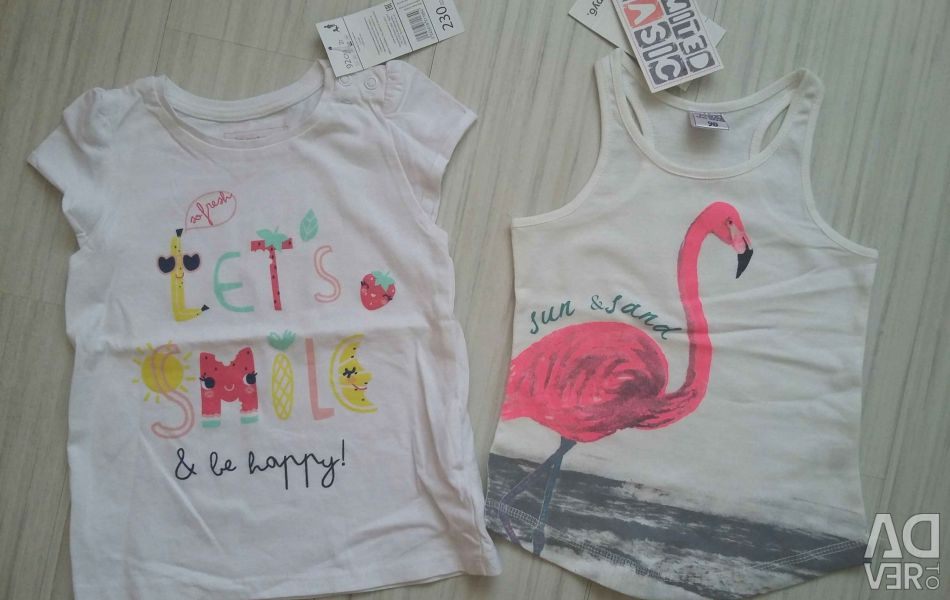 T-shirts NEW