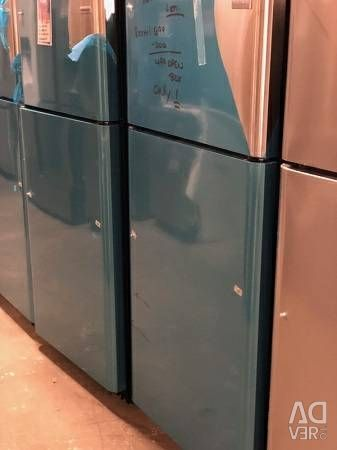 OPEN BOX STAINLESS TOP MOUNT REFRIGERATOR 1 YR WAR