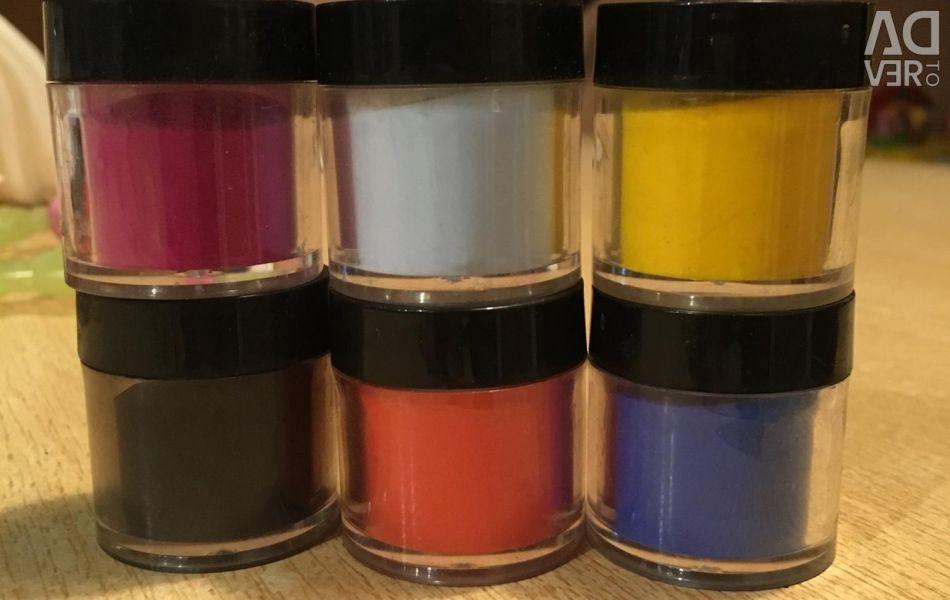 Acrylic Powder. New