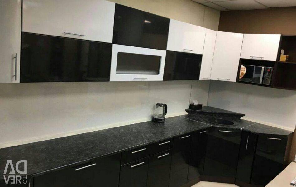 Модульна кухня 3,6 * 1,4 (глянець) в Находці