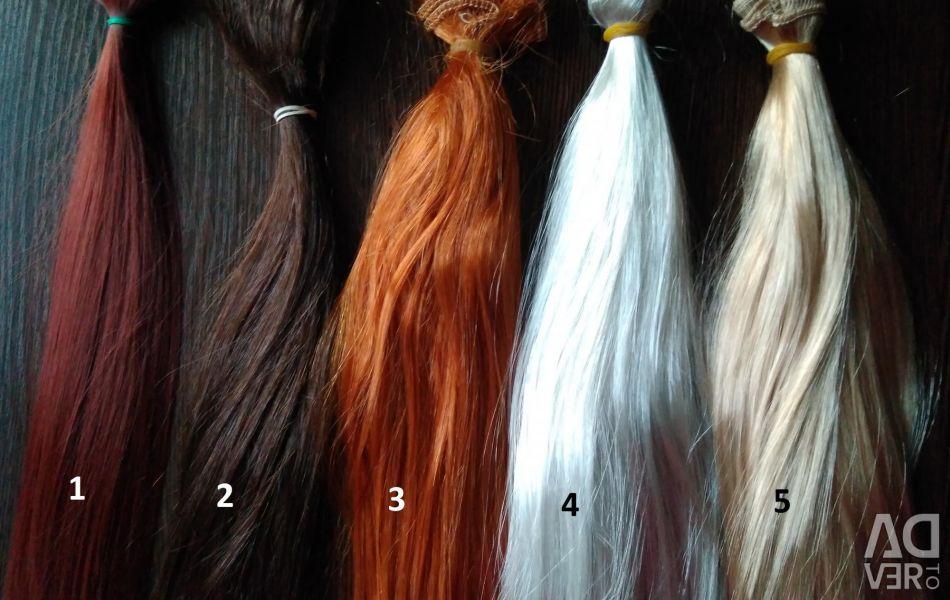 Tress for dolls long 30 cm