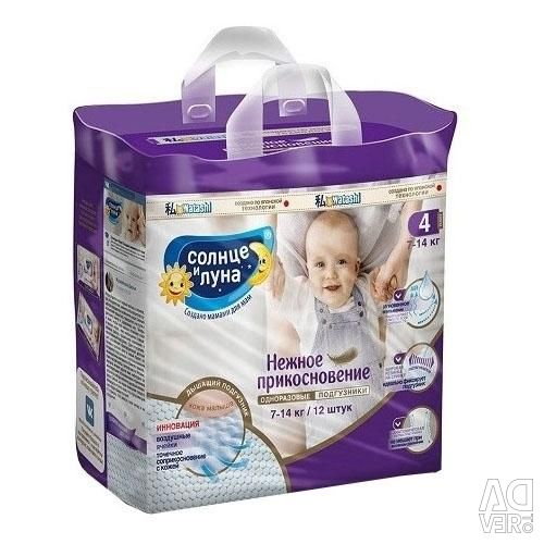 Diapers sizes are different