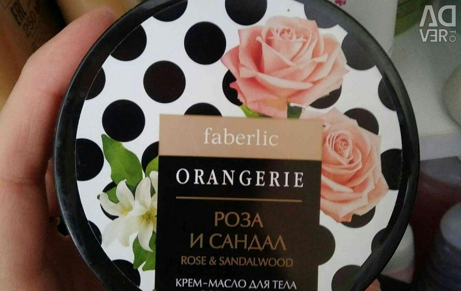 Ulei de cremă Rose Faberlic