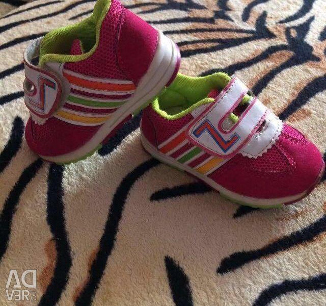 Sneakers 12,5 cm.