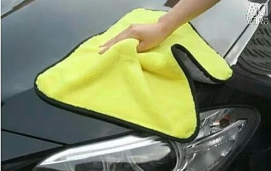 Car towel for car cleaning
