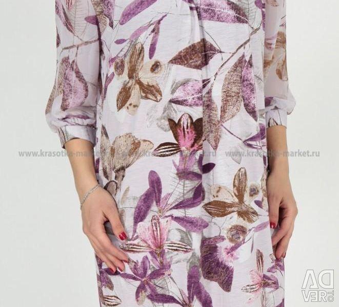 Новое красивое платье,размер 58