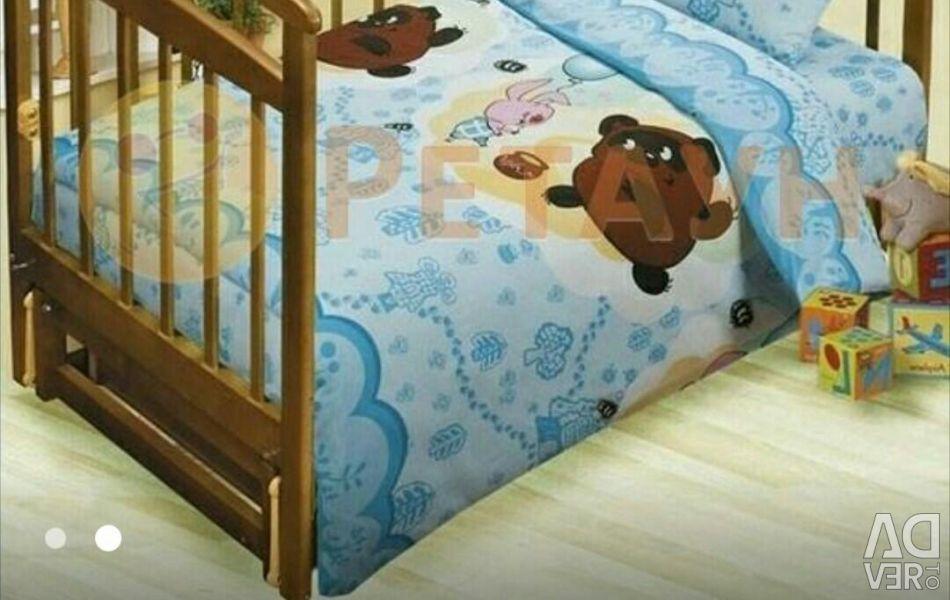 Seturi de lenjerie de corp Winnie the Pooh.