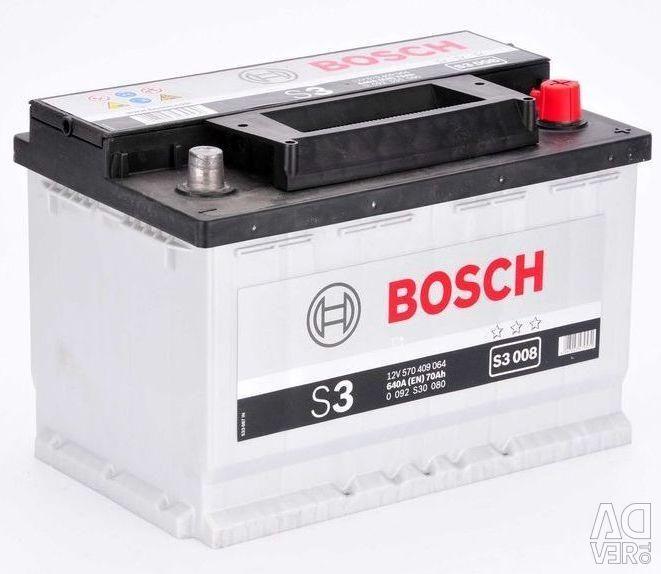 Акумулятор Bosch S3 008 70Ач