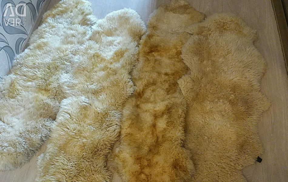 Sheepskin Covers 4pcs