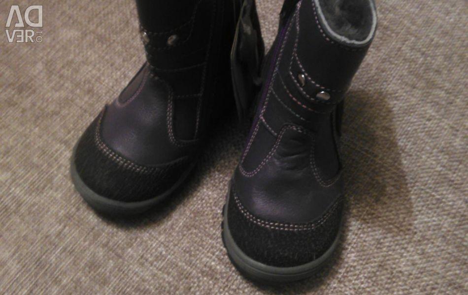 Ботинки новые зимние 28,29
