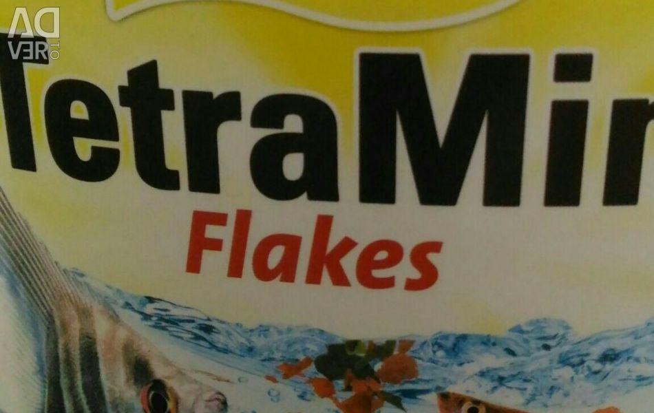 Dry flakes tetra min