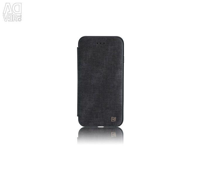 Remax χειμερινή δερμάτινη θήκη iPhone 7 μαύρη